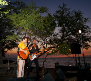Lava Lava Beach Club Entertainment at Sunset