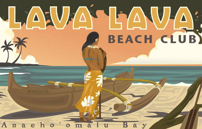 the pleasures of private dining at llbc lava lava beach. Black Bedroom Furniture Sets. Home Design Ideas