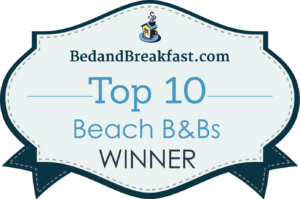 LLBC Bed & Breakfast Award Top Ten Best Beaches Release WINNER