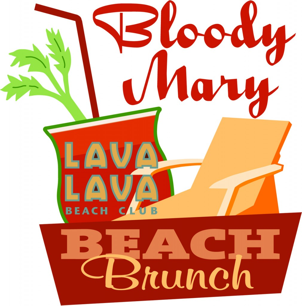 Bloody Mary Beach Brunch Lava Lava Beach Club