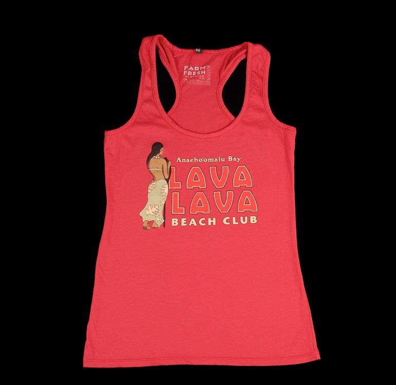 women s lava lava beach club premium cotton tank top r. Black Bedroom Furniture Sets. Home Design Ideas