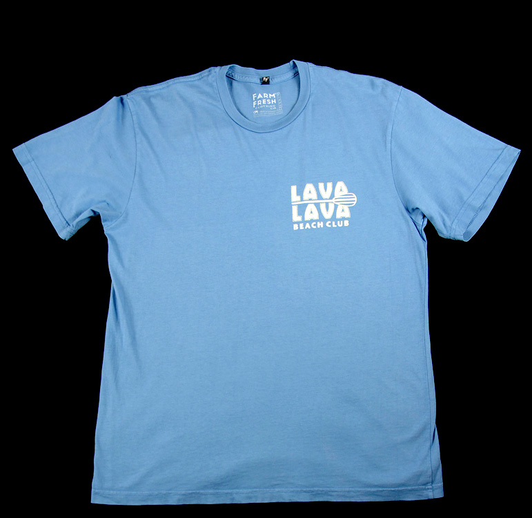 lava lava beach club premium cotton t shirt bl lava. Black Bedroom Furniture Sets. Home Design Ideas