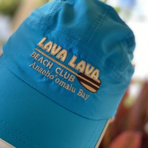 Blue soft hat