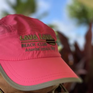 Pink soft hat