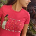 Womens red tshirt - Copy