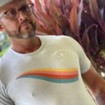 mens rainbow tshirt