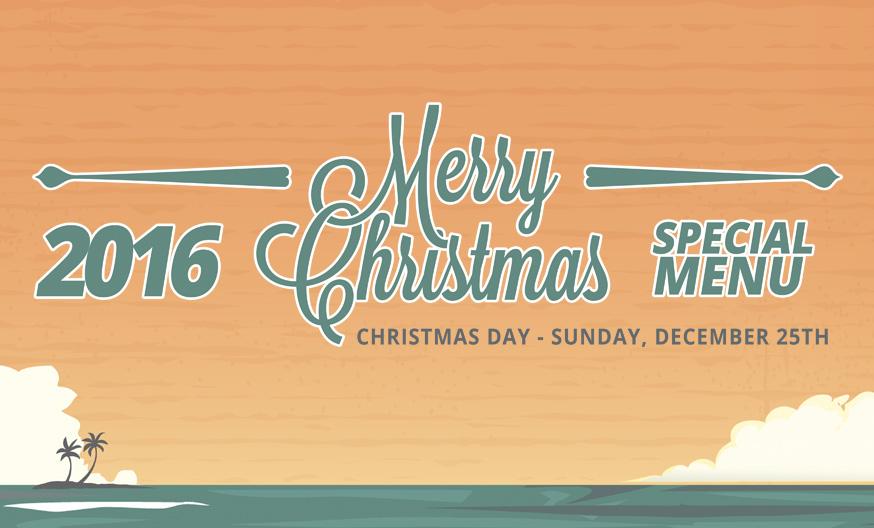 2016 Christmas Menu Kauai